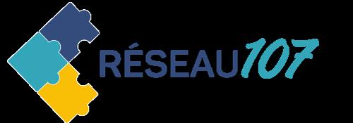 Réseau 107 Logo